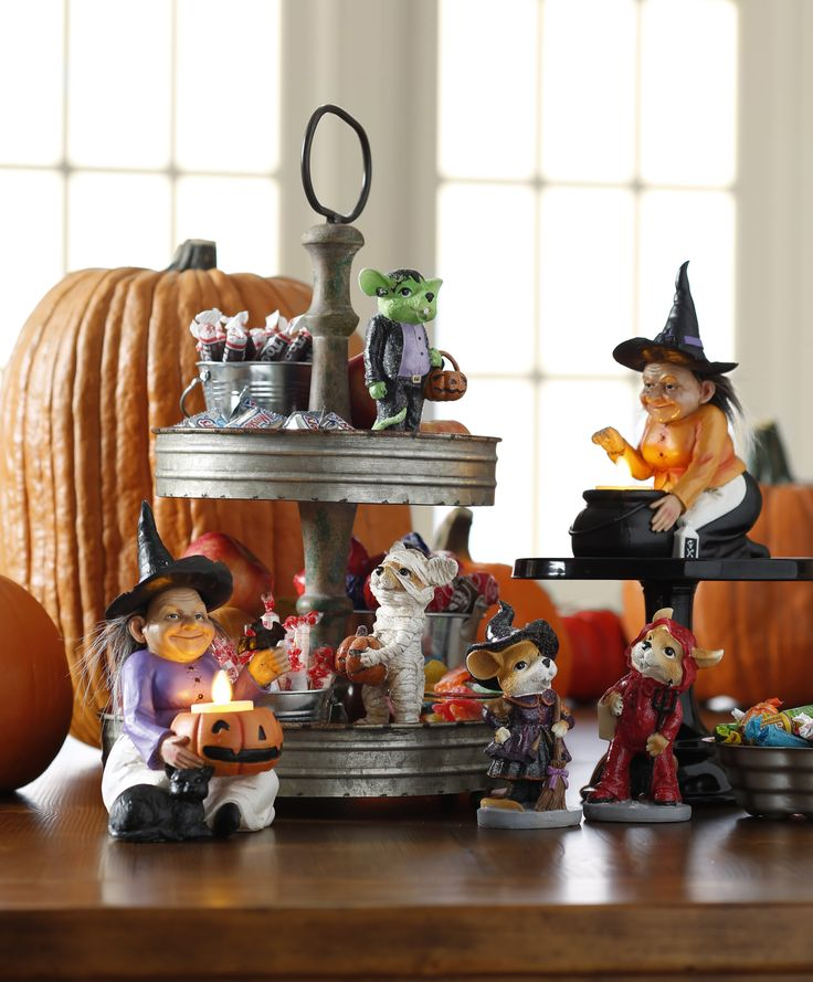 trick or treat tablescape from the halloween collection by raz imports shop raz at - Raz Halloween Decorations