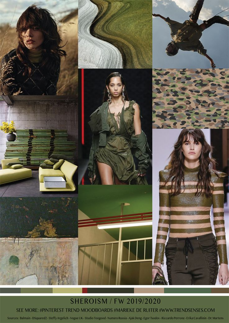 MOODBOARD SHEROISM FALL/WINTER 20192020 (With images