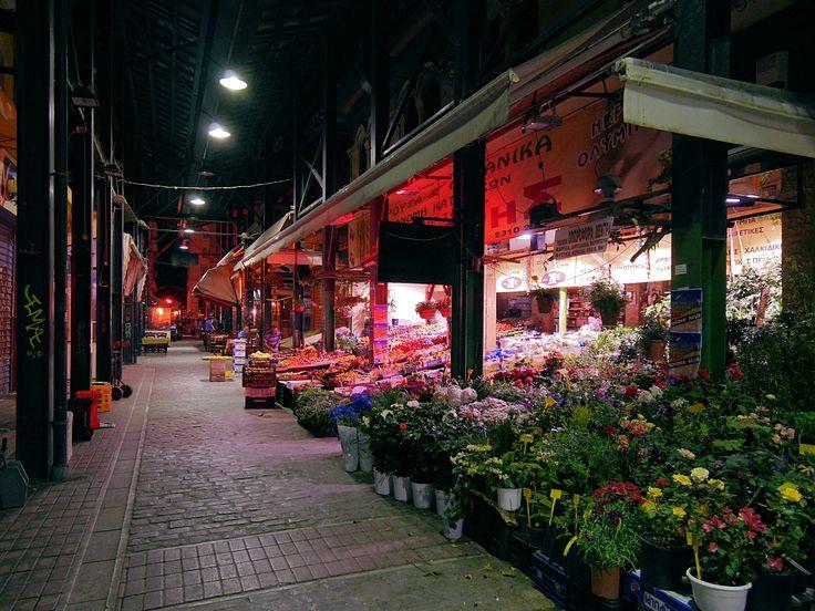 Νύχτα στην αγορά Βατικιώτη (Μάιος 2017)
