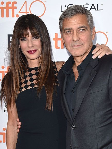 George Clooney Jokes About Wishing He'd Played Sandra Bullock's Role in Miss Congeniality: 'I Can Rock a One-Piece' http://www.people.com/article/george-clooney-sandra-bullock-miss-congeniality-toronto-film-festival-2015