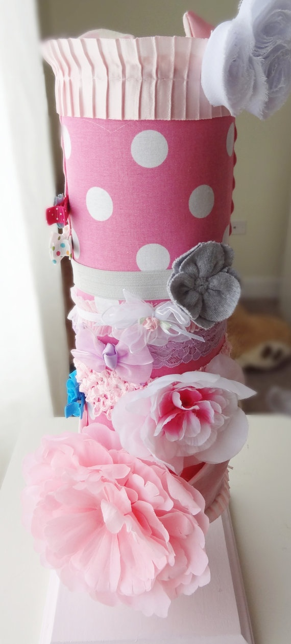 Baby Girl Headband Holder Hollow Inside for by SoFreakingAdorable, $28.00