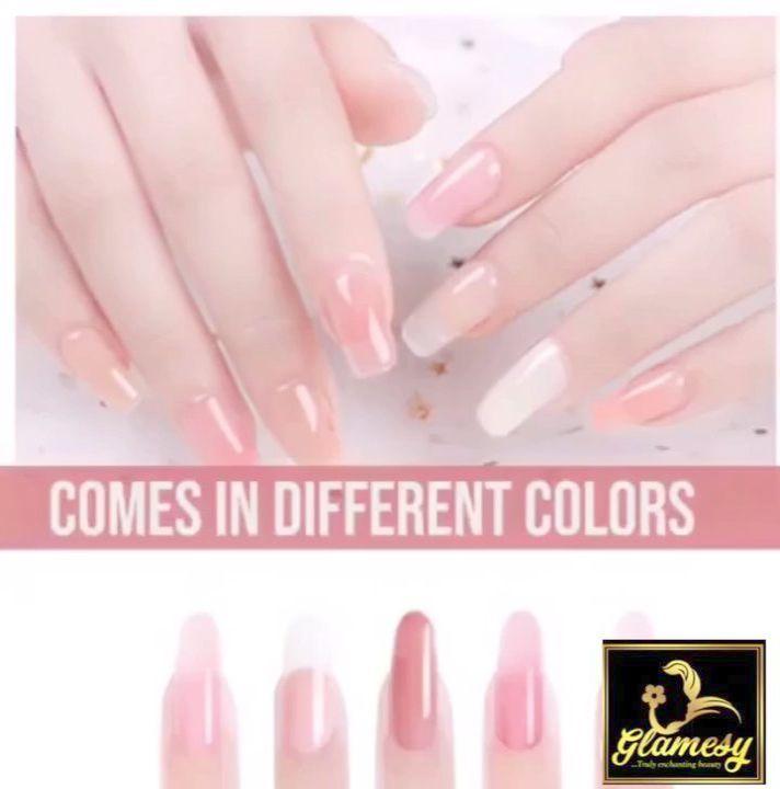 Home Blend Of Bites Gel Nail Kit Nail Kit Polygel Nails