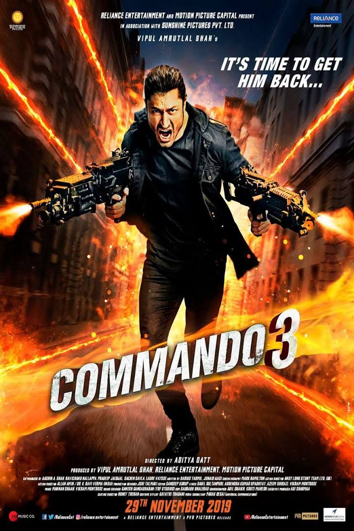 Watch Or Download Commando 3 Full Hindi Movie In Hd 480p Latest Bollywood Movies Hd Movies Download Hindi Movies