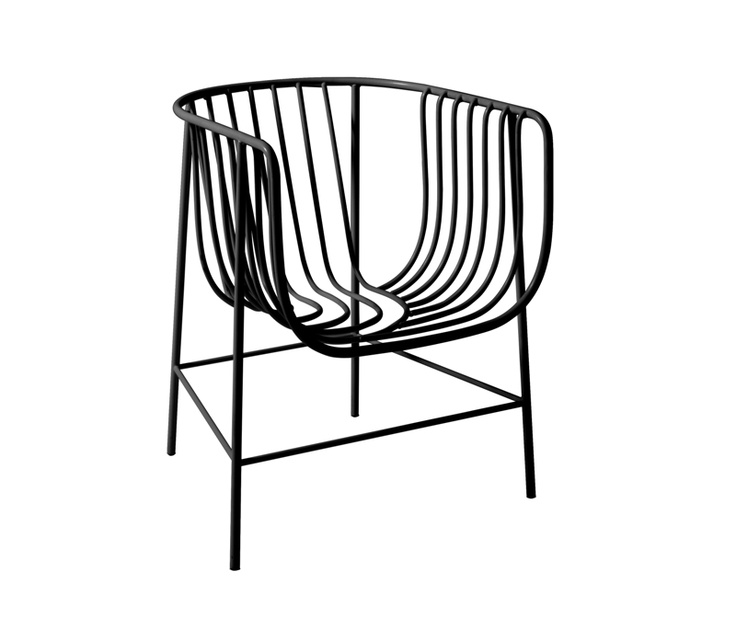 Cappellini U0027Sekiteiu0027 Chair By Nendo, From Cult A Shapely Form In  Powdercoated Steel Wire, This Chair Has A Beautiful Asymmetrical Pattern To  The Metal Work.