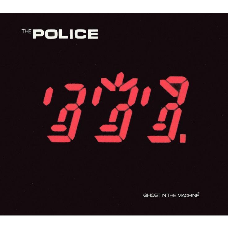 Police Ghost In The Machine Cd 【2019】 Mancaveartwork