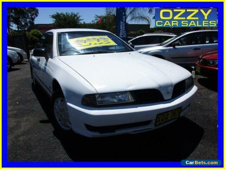 2000 Mitsubishi Magna TJ Executive White Automatic 4sp A Sedan #mitsubishi #magna #forsale #australia