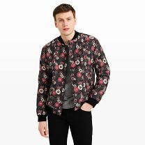 Printed Floral Bomber - Our take on the quintessential bomber involves a standout floral print inspired by Russian and Romanian tapestries and just the right amount of insulating fill, making it the perfect transitional jacket.