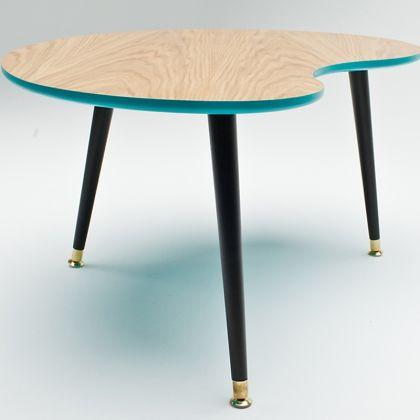 Стол «Почка» (натуральный шпон)