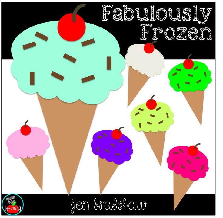 FREEBIE Ice cream clip art just in time for summer fun ...