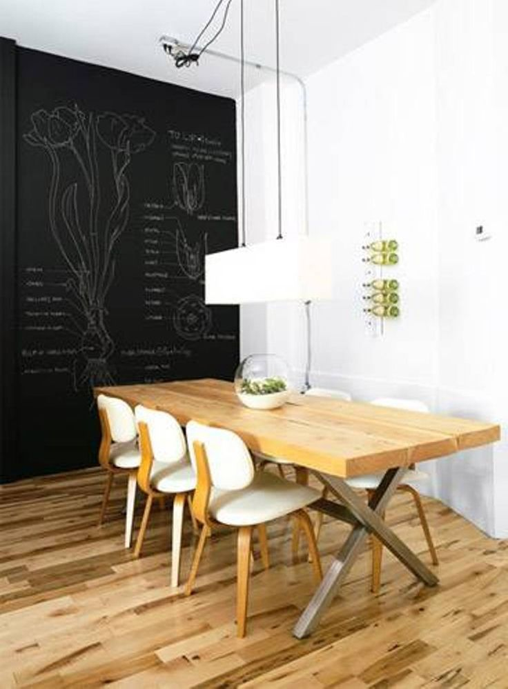 Best Chalk Art Dining Room Ideas Images On Pinterest Chalk - Chalkboard accents dining rooms
