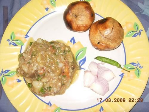 Facets of Adi - Regional Cuisine: Baati Chokha