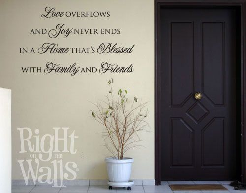 """Right on the Walls"" quotes"