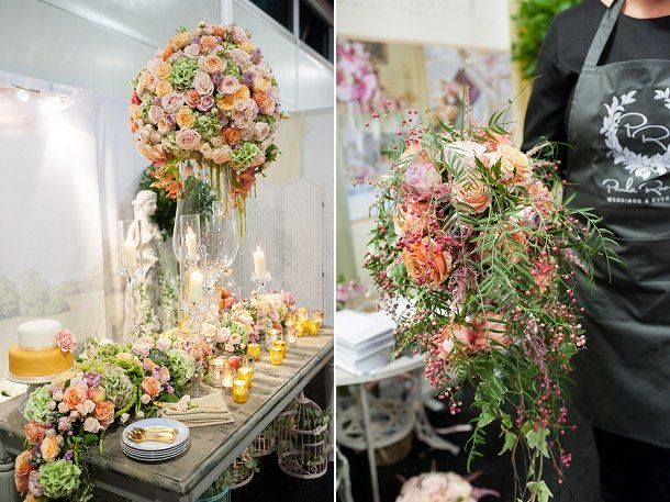 Paula Rooney Flowers at Brides The Show | Review on www.blovedweddings.com // Photography: Fiona Kelly