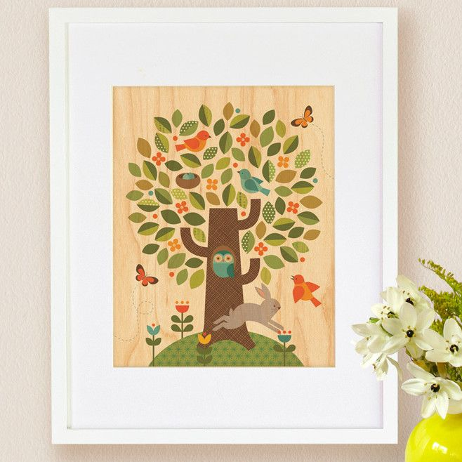 Tree, Small Framed Art