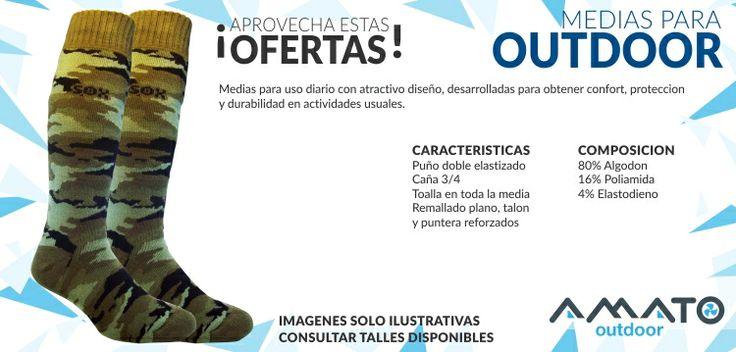 Medias Termicas para Outdoor - Conseguilas en Amato Outdoor!