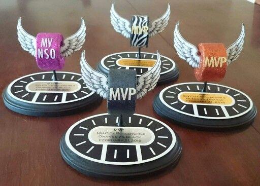 Roller derby mvp trophies