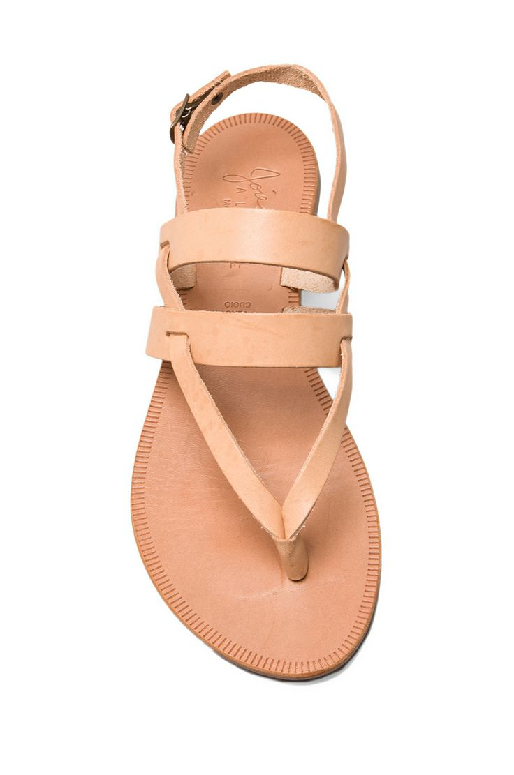 thong + strap sandals