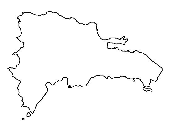 Dominican republic pattern use the printable outline for for Dominican republic coloring pages