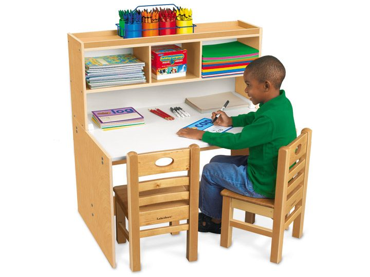 classic birch space saver writing center lakeshoredreamclassroom