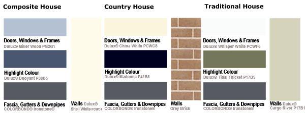 Colour Centre Ironstone Colour palette