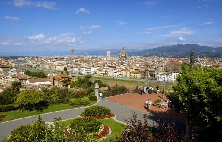 Piazzale Michelangelo, Florencja, Włochy