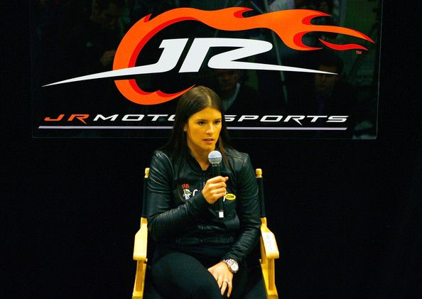 Danica Patrick Photos: Danica Patrick at JR Motorsports