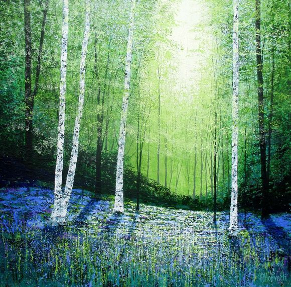 Blue Forest Dreams