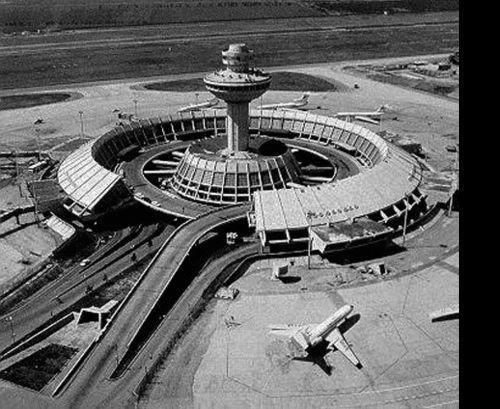 Armenia, Zvartnots, International Airport, 1961  Architects: M. Khachikyan, A. Tarkhanyan, J. Sheqhlyan, L. Cherkezyan and designers H. Tigranyan, A. Meschyan, and constructor M. Baghdasaryan