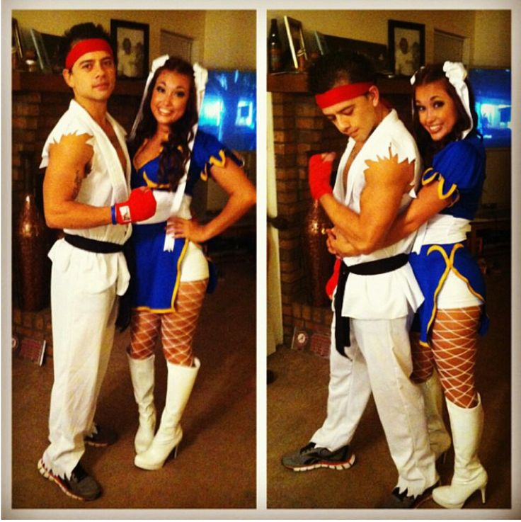 Street fighter costume