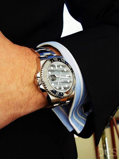 Rolex GMT ...now go forth and share that BOW DIAMOND style ppl! Lol. :-) xx love watches? Follow http://everythingforguys.co.uk