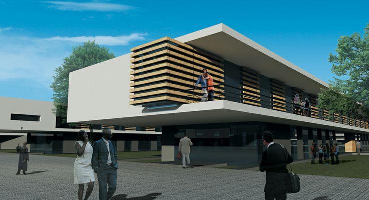 ANGOLA   Lubango   University campus