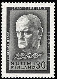 Jean Sibelius - surumerkki - Sulje napsauttamalla kuvaa