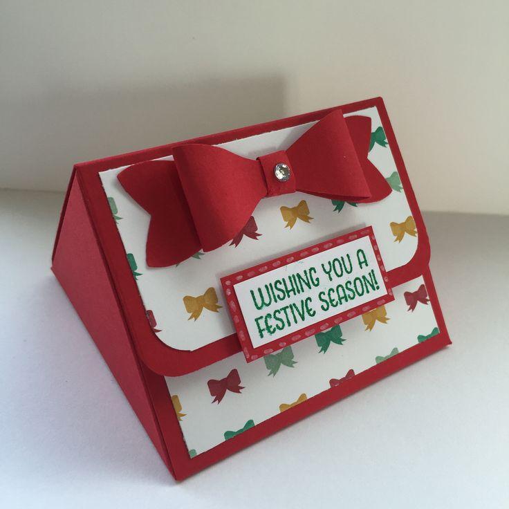 Easy triangular treat box