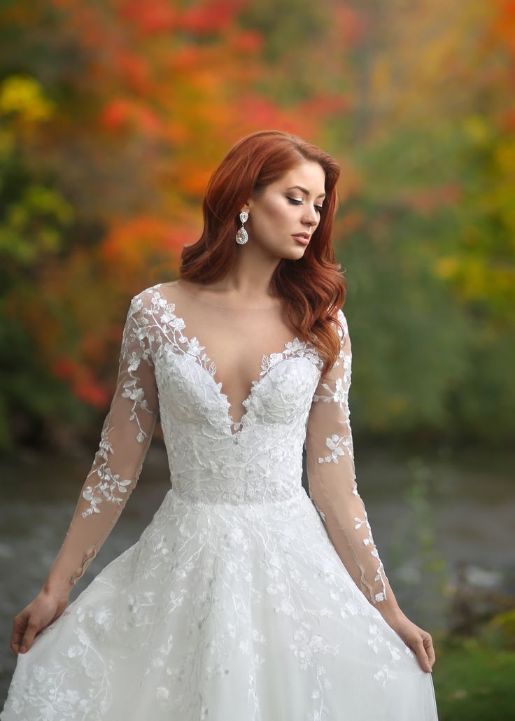 464 best Lace Wedding Dresses images on Pinterest | Lace weddings ...