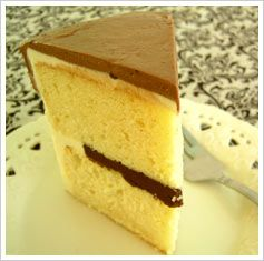 My criterias for a good yellow cake recipe are that:  it has to be moist and not too dense it has to have a nice buttery and vanilla flavor but should not be greasy it also have to be made from scratc