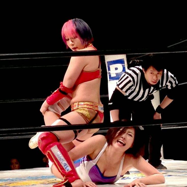 Natsu Sumire Japanese female wrestler