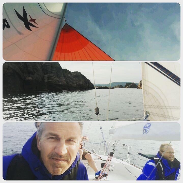 Seier I Tirsdags-regattaen i går!!
