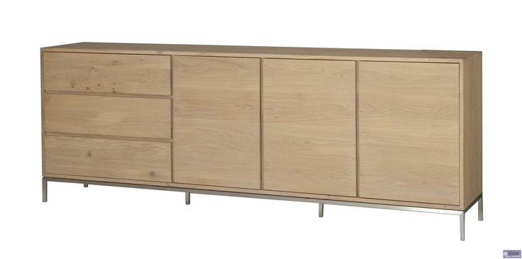 Dressoir hoog (3 deuren, 3 laden) - Lofty Collectie