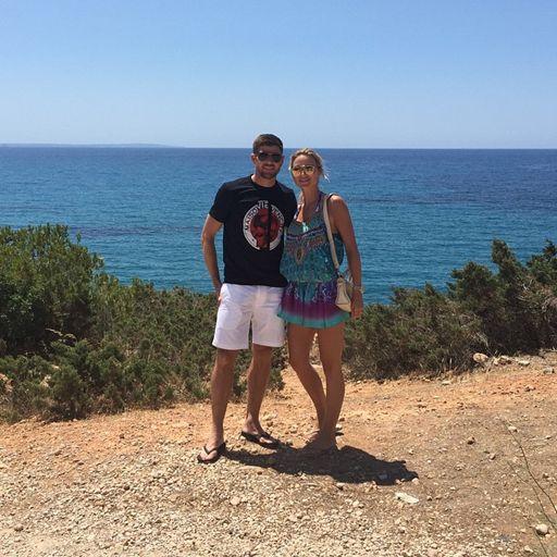 Ekpo Esito Blog: Photo: Steven Gerrard and his wife Alex on romanti...