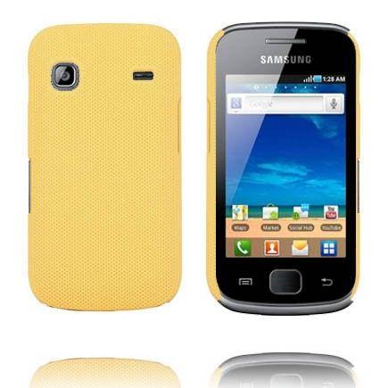 Supreme (Tummankeltainen) Samsung Galaxy Gio Suojakuori
