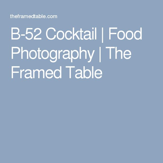 Food Photography, Cocktails, Cocktail Recipes