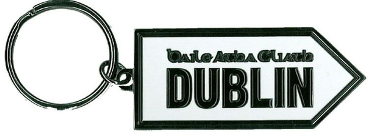 Dublin, Baile Atha Cliath Old Irish Road SIgn  http://paddywhackery.ie/home/keyrings/