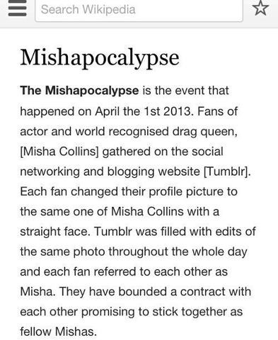 KEEP SPREADING IF YOU WANT ANOTHER MISHAPOCOLYPSE IN 2015 <--- IN 2016 TOO