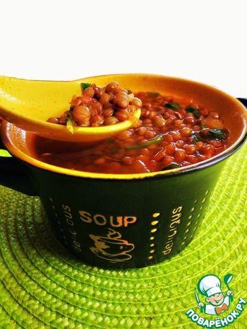 Греческий суп из чечевицы ингредиенты