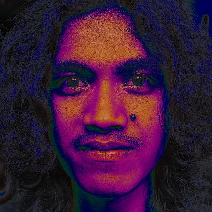#psychedelic #portrait #photography