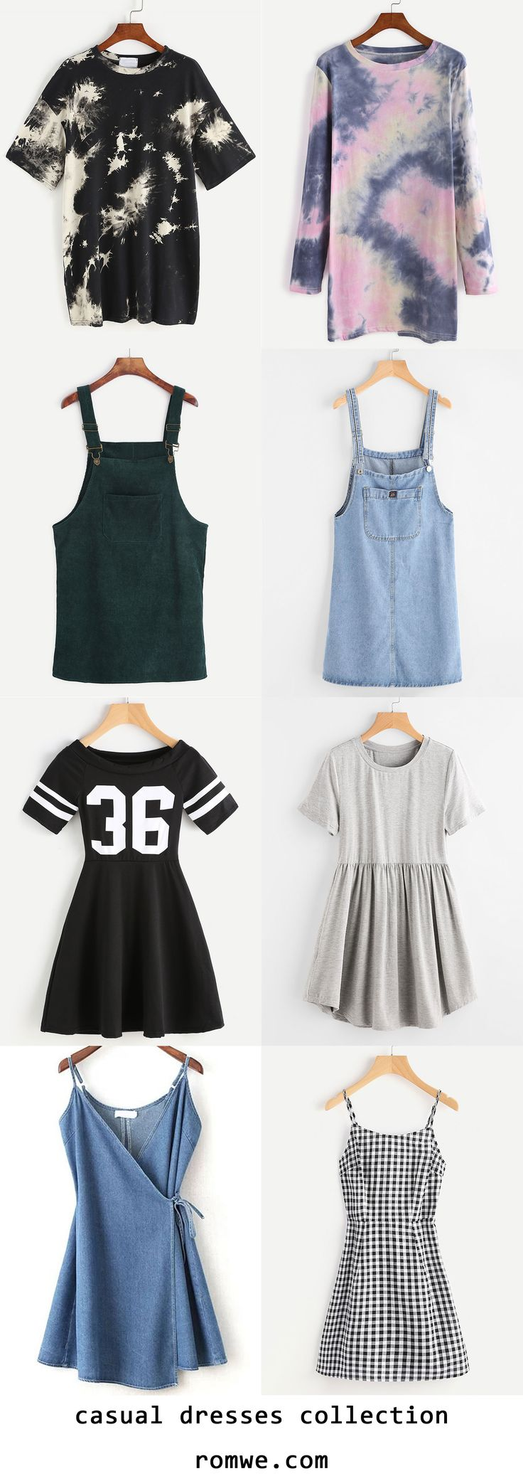 casual dresses collection 2017 - romwe.com