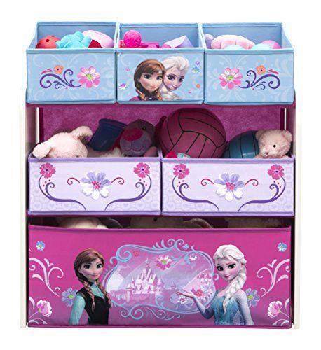 Delta Children Multi-Bin Toy Organizer Disney Frozen
