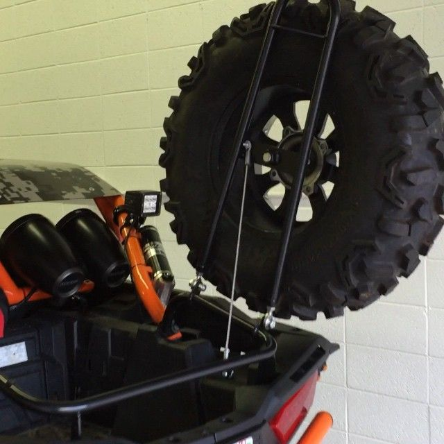 """""""Check out this RzR 1000 spare tire carrier!! Only $330 from kombustionutv.com or click the link in our bio @kombustionutv"""" Photo taken by @kombustionutv on Instagram, pinned via the InstaPin iOS App! http://www.instapinapp.com (06/16/2015)"""
