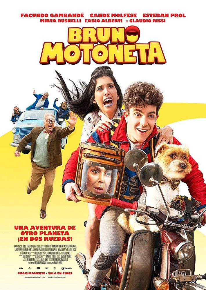 Bruno Motoneta 2018 Director Pablo Pares Full Films Now And Then Movie New Movies