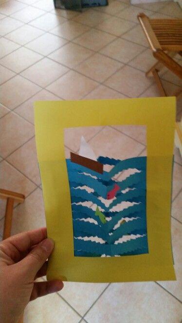 Aquarium en papier